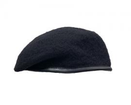 深藍色羊毛貝雷帽