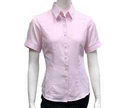 粉紅色暗紋襯衫