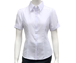 白色暗紋襯衫